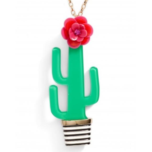 kate spade Jewelry - Kate Spade cactus scenic new York pendant